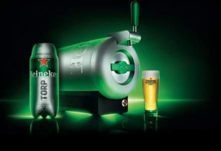Heineken aduce in Europa primul dozator de bere pentru acasa