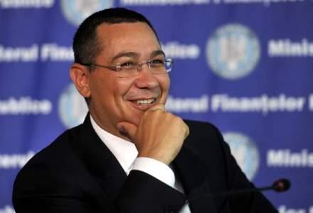 """Ponta a revenit din """"escapada"""". Premierul a ajuns in Bucuresti cu o aeronava a companiei Fly Dubai"""