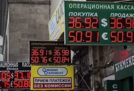 Riscul de intrare in recesiune a Rusiei a crescut la un nivel record