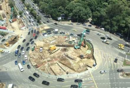 PMB: In weekend se monteaza structura pasajului pietonal de sub bulevardul Kiseleff