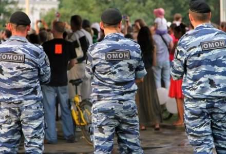 Fortele speciale, mobilizate la ambasada Republicii Moldova din Rusia pentru a asigura ordinea
