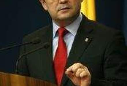 Boc, la inaugurarea centurii Timisoarei: Daca ai butoanele la MT, un ministru respecta ce spune