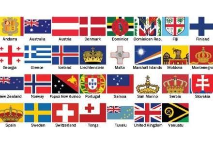 Senat: Arborarea altor drapele, interzisa daca se aduce atingere demnitatii nationale