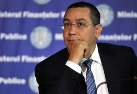 Victor Ponta: Proiectul privind redeventele va intra in dezbatere publica la inceputul anului viitor