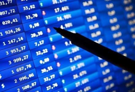 Bursa a inchis in crestere, insa avansul a fost limitat de scaderea OMV Petrom si FP