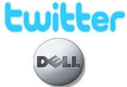 Dell a vandut de 6,5 mil. dolari prin intermediul Twitter