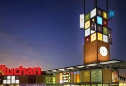 Auchan a finalizat preluarea a 12 galerii comerciale, tranzactie de 261 mil.euro, cea mai mare din Romania