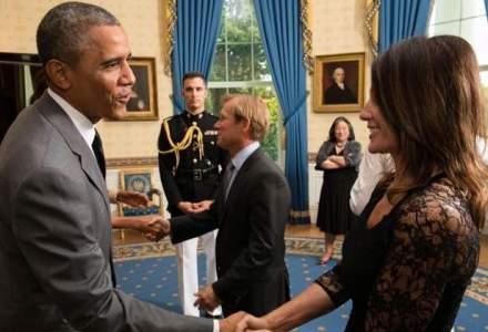 POZA saptamanii: Nadia Comaneci si Barack Obama au dat mana la Casa Alba