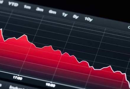 Cele mai mari scaderi pe bursa din ultimele doua luni