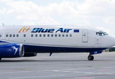 Blue Air a transportat 11,5 MIL. pasageri in cei 10 ani de activitate