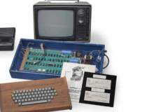 Licitatie Apple: un computer,...