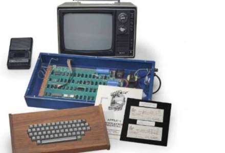 Licitatie Apple: un computer, care i-a apartinut lui Steve Jobs, vandut pentru suma de 365.000 de dolari