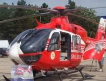 Elicopter SMURD, prabusit in...