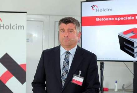 Seful Holcim: 2015 va fi o etapa intermediara pentru proiectele majore de infrastructura care vor fi lansate in 2016