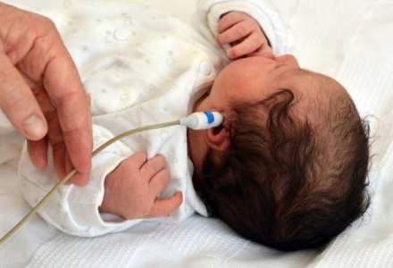 Veste buna: teste de auz gratuite pentru toti nou-nascutii incepand de anul viitor