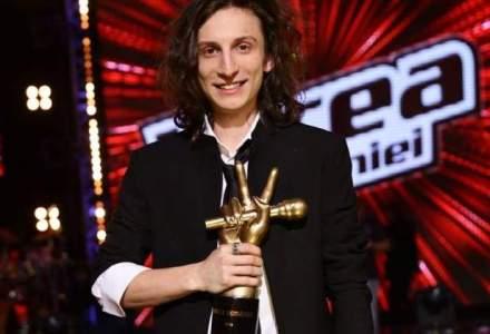 Show-ul Vocea Romaniei si-a desemnat castigatorul. Audiente duble fata de postul TV concurent