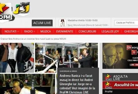 Tranzactia finalului de an in media: RCS-RDS cumpara ProFM