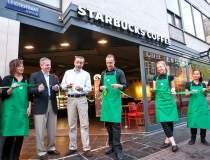 Starbucks deschide luni prima...