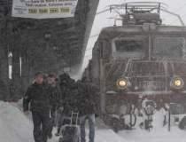 Trenuri blocate in camp in...