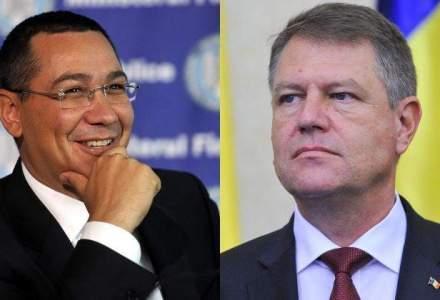 Ponta, mesaj pe Twitter dupa discutia cu Iohannis: Am avut intalnirea saptamanala