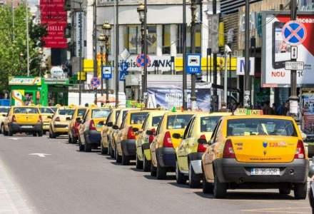 Taximetristii bucuresteni, amendati cu 2 MIL. lei: s-au inteles intre ei