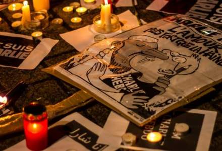Echipa Charlie Hebdo a primit donatii de 1,6 mil. euro si lucreaza la urmatorul numar in redactia Liberation