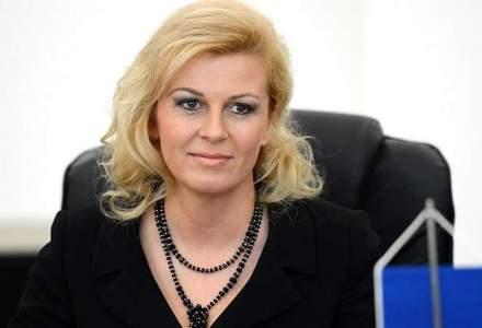 Prima femeie presedinte din Balcani. Kolinda Kitarovici va conduce Croatia in urmatorii cinci ani