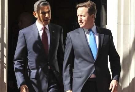 Barack Obama si David Cameron, pro mentinerea sanctiunilor puternice impotriva Rusiei