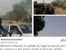 Manifestatii violente...