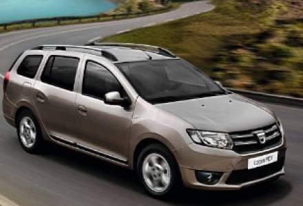 Vanzarile Dacia: crestere cu peste 19% in 2014, la peste jumatate de milion de unitati