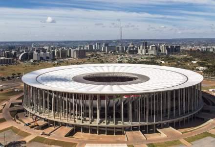 Costurile stadionului din Brasilia, acoperite intr-o mie de ani