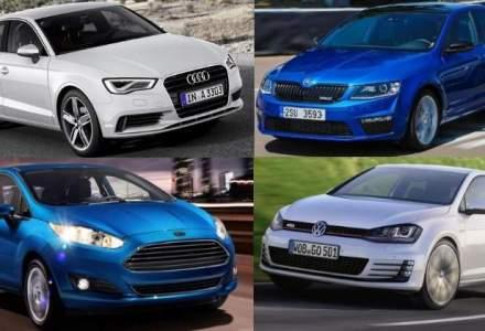 TOP 10: cele mai vandute modele de masini in Europa in 2014