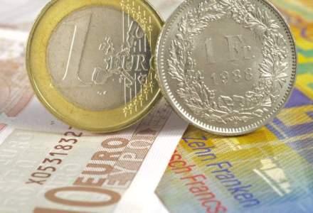 Banca centrala a Elvetiei a abandonat pragul franc/euro din cauza costurilor prea mari