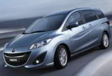 Noua Mazda5 apare in toamna pe piata europeana