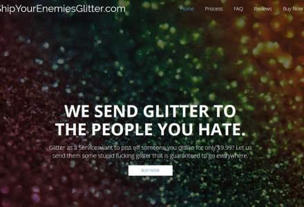 Site-ul Ship Your Enemies Glitter, vandut cu 85.000 $ la 10 zile de la lansare