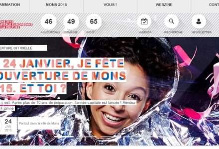 """Orasul belgian Mons devine """"capitala culturala europeana"""" pentru anul 2015"""