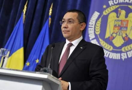 """Victor Ponta: Avem functionari prost platiti fata de cei care ii controleaza, ramanem doar cu """"caini de paza"""""""