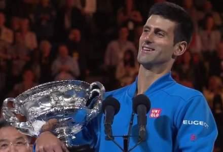 Novak Djokovici este pentru a cincea oara castigatorul turneului Australian Open