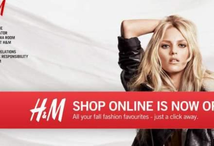 H&M Romania va lansa anul acesta magazinul online