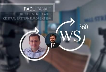 Radu Panait (recruitment leader IBM), invitatul emisiunii WALL-STREET 360: cum pot inova angajatii in ziua de astazi
