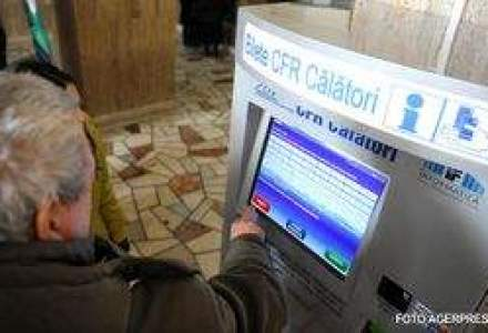 Automatul pentru bilete CFR - Calatorii sunt curiosi, dar sceptici