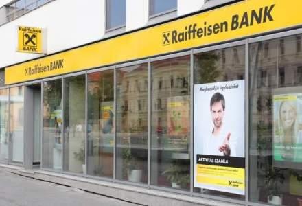 Raiffeisen Bank face in Romania un profit dupa taxe de 97 de milioane de euro