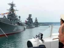Flota rusilor face exercitii...