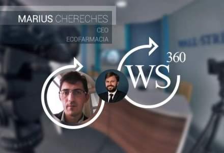 Marius Chereches, CEO (EcoFarmacia), invitatul emisiunii de business WALL-STREET 360