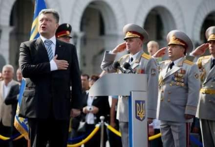 "Petro Porosenko, decis sa puna capat violentelor din Ucraina ""imediat si fara conditii"""