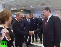 Imaginea zilei: Putin si...