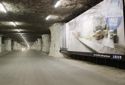 Complex de birouri sub pamant: povestea SubTropolis, un oras subteran in care lucreaza 1.000 de oameni