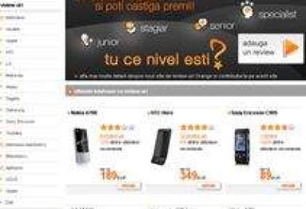 Orange estimeaza 800 de utilizatori in prima luna a site-ului de comentarii despre produsele comercializate