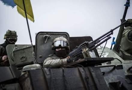 Cel putin trei morti intr-un atentat produs in cursul unui miting, in orasul ucrainean Harkov