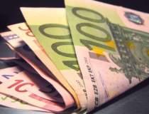 Euro a scazut usor la 4,4478...